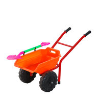 Wholesale children beach trolley cart sand toy play set plastic beach toy