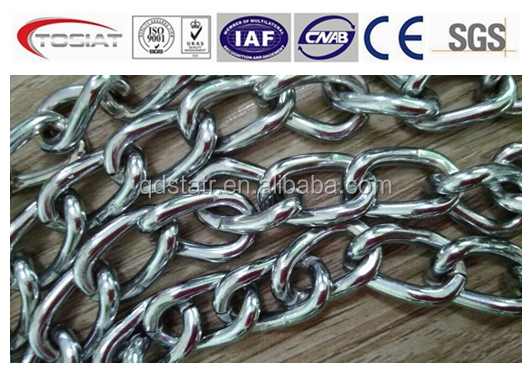 High quality US standard Twist Link Coil Chain NACM90