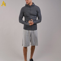 2017 New Design Sports Fashionable Wholesale Men Running Hoodie With Thumb Holes