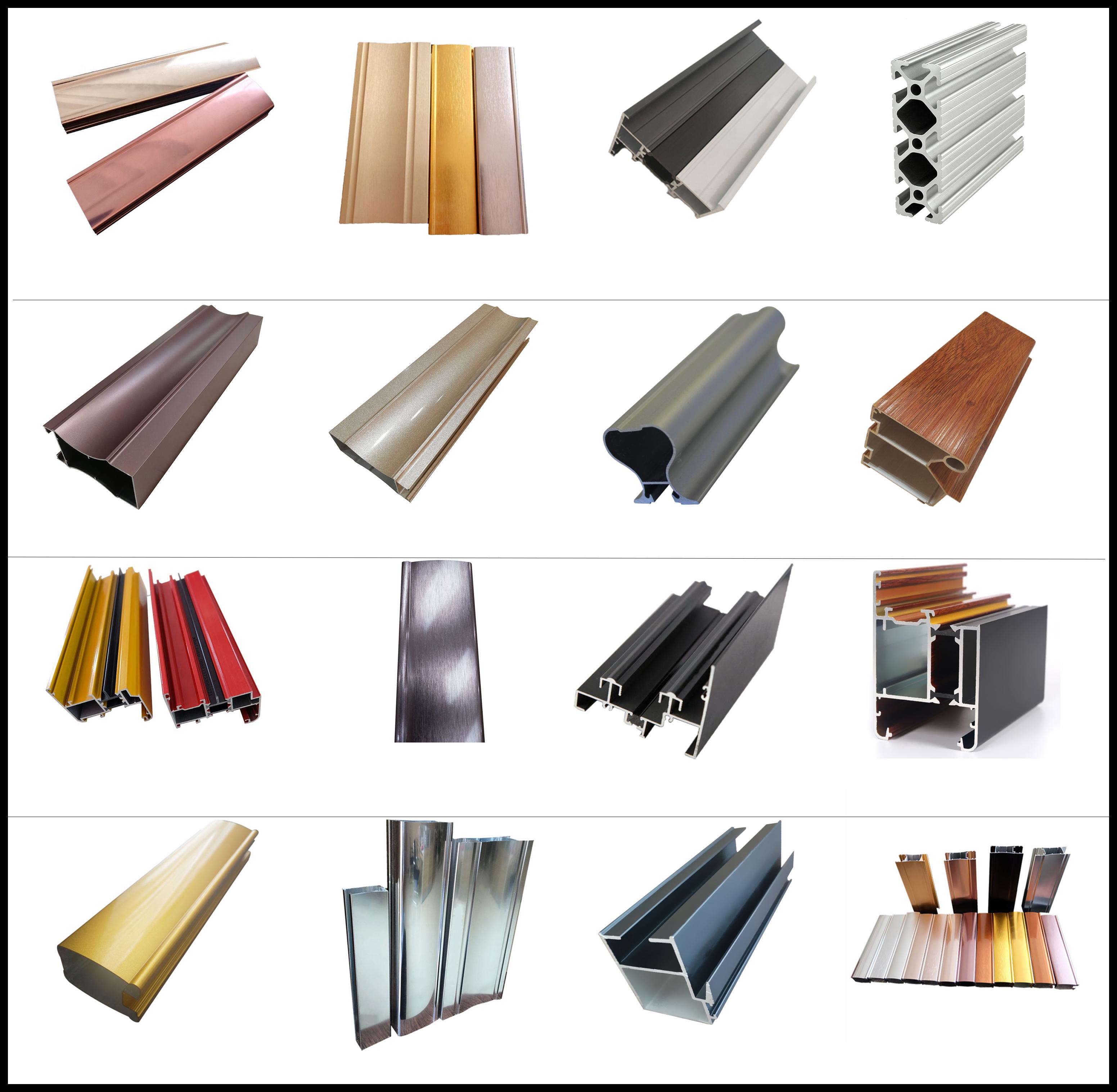 Moldura de alumínio porta do armário/perfiles de aluminio/jianmei de aluminio