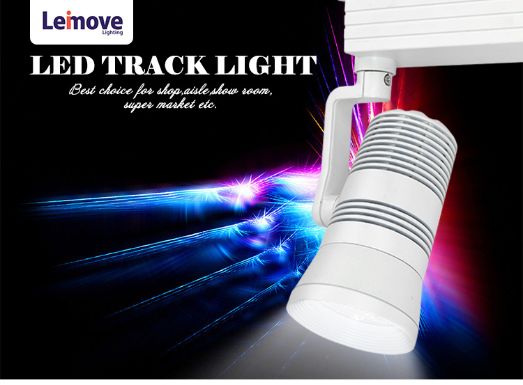 2018 new products rgb led track light with top selling