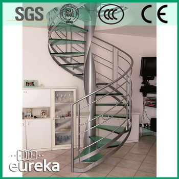 House Used Prefabricated Portable Aluminum Spiral Stairs