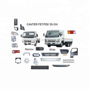 Japan truck spare parts Mitsubishi Fuso Canter FB71B FE84D FE85D 2005 Body  parts headlight set