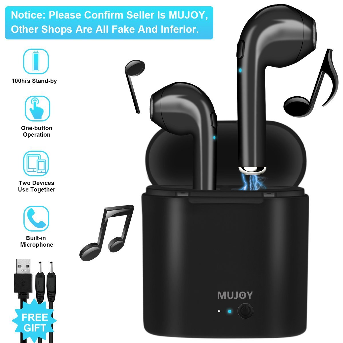 Cheap Apple Earbuds Find Deals On Line At Alibabacom Earpods Earphone Handsfree Iphone 5 Rainbow Colours Get Quotations Wireless Stereobluetooth Headphones Earphones Earbud With Mic Mini In Ear