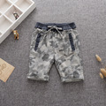 MS75402B Latest baby boys camouflage design shorts
