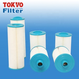Antibacterial filter reused after washing spa swimming pool function of cartridge filter