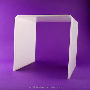 Factory sale of custom white acrylic table
