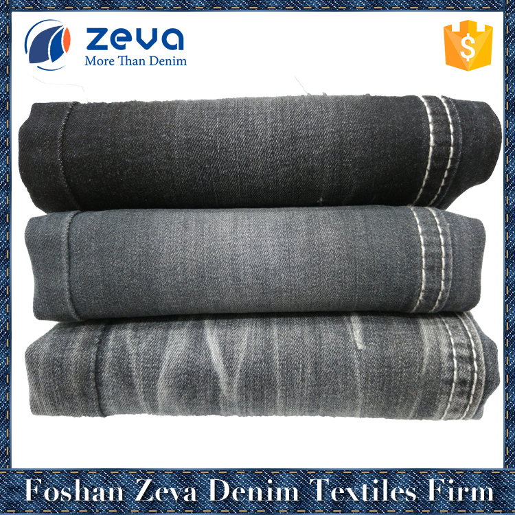 High quality wholesale rayon polyester 3/1 right hand twill denim fabric specification