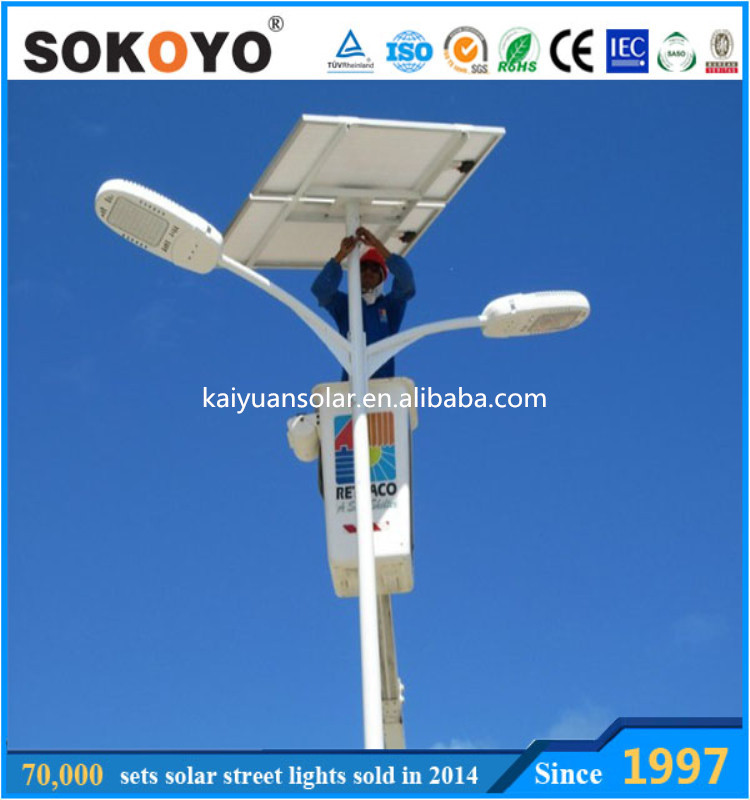 Sokoyo Trade Assurance 8m 42w Solar Led Street Light Ip65 Solar ...