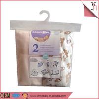 Breathable Baby Muslin Swaddle/Blanket 2Packed In Bulk