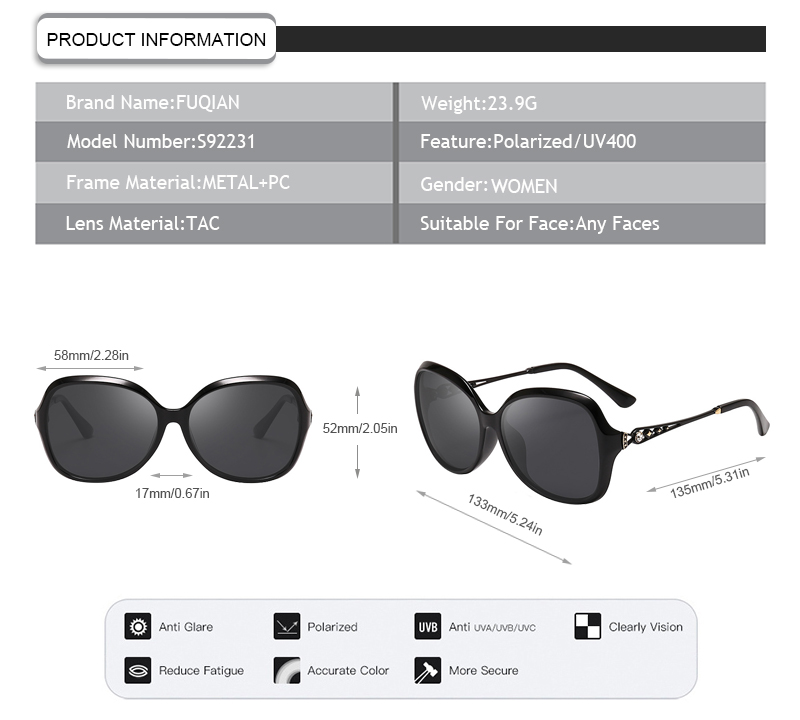 Fuqian cheap sunglasses uk for business for racing-7