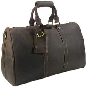 High Quality Fashioned Leather Duffle Bag Mens