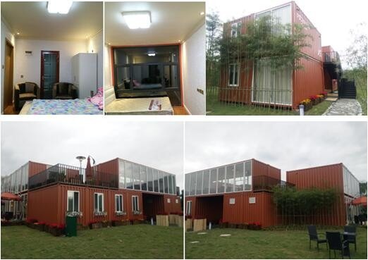 High quality modern container house for living made in China