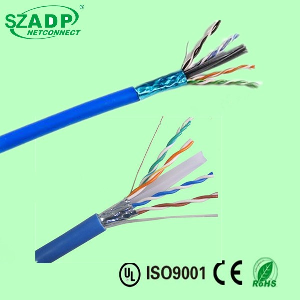 23 AWG F/UTP Category cat 6 Solid Outdoor Lan Cable