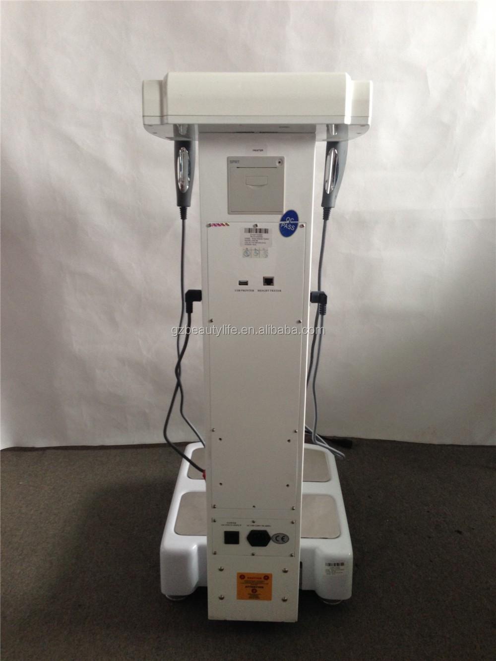 Insan vücudu eleman analizörü BL-H01fat ağırlık