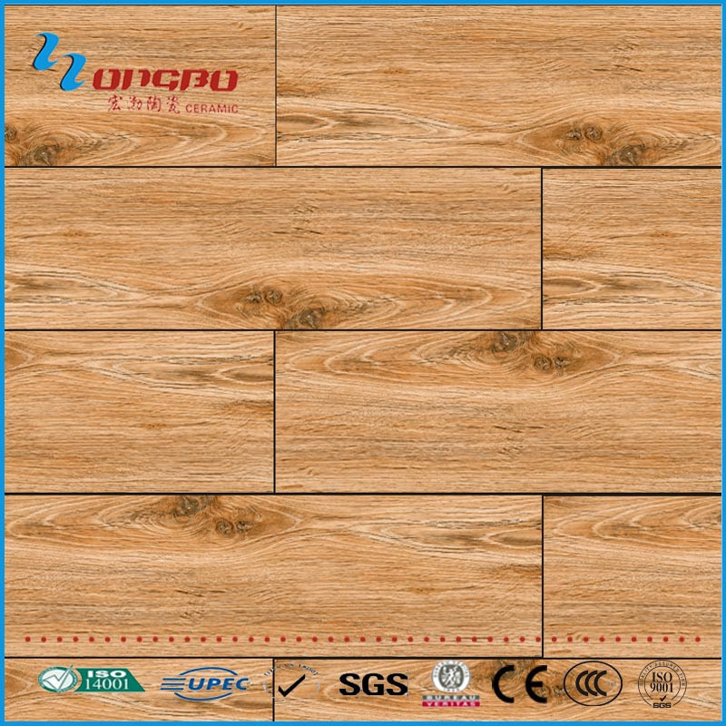floor imitation wood garage and terrace floor tile