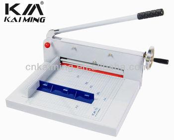 Km-198 Manual China A4 Size Paper Cutting Machine For Sale