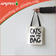 Strong Canvas Shoulder Bag Pet Bag With Black Tote And Printing