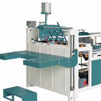 High speed Automatic mini box Folder Gluer Machine with prefold and crash lock bottom