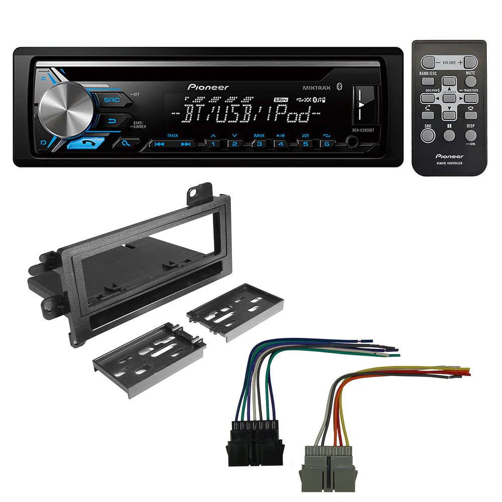 Pioneer Mixtrax Car Audio Wire Harness Deh 8400bh Wiring Library X6700bt Diagram Get Quotations Aftermarket Radio Stereo Cd Player Dash Install Mounting Kit