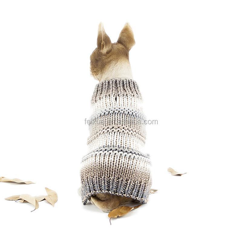Productos Para Mascotas Grande Tejido Patrones Perro Suéteres Rayas ...
