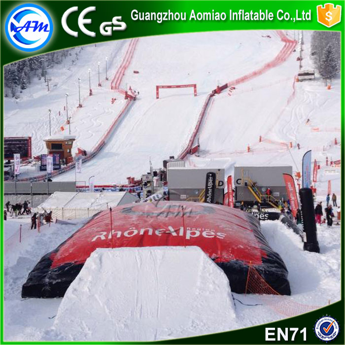 Commercial Grade Winter Inflatable Air Bag,Giant Airbag Landing ...