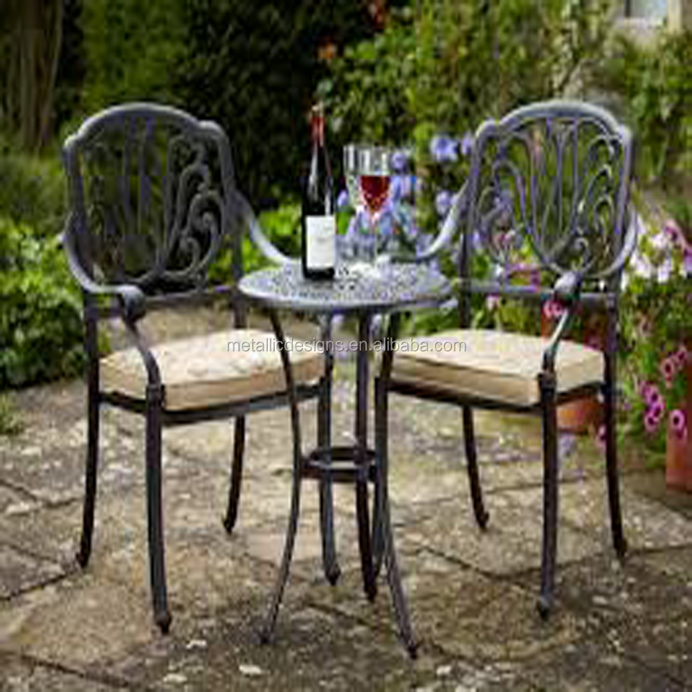 Antique outdoor furniture cast iron garden chairs decorative cast iron chairs
