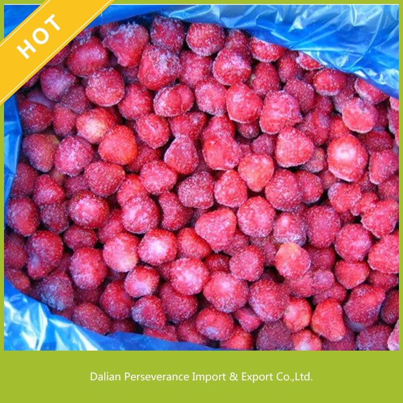 2017 Wholesale Frozen Fruits IQF Frozen Strawberry from China