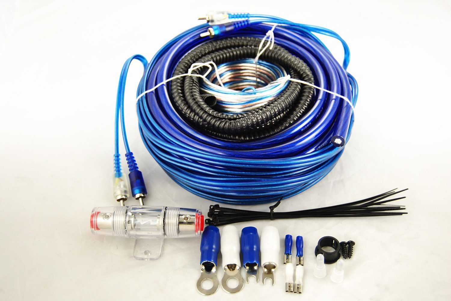 Buy Novosonics Amp 4 Gauge Kit Amplifier Installation Wiring 1500 Watt In Cheap Price On