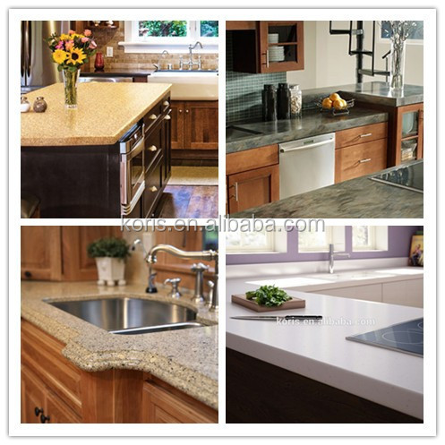 Transparent Artificial Man Made Marble For Kitchen Countertop