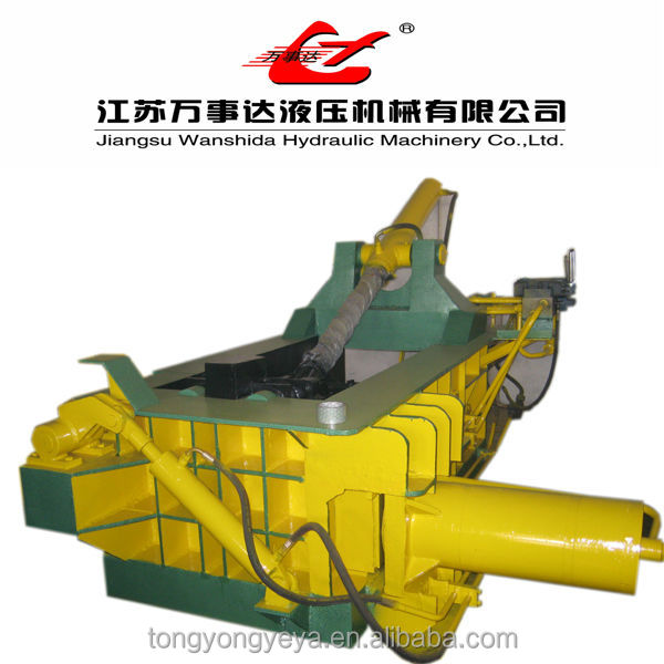 Automatic Scrap Baler Machine Hydraulic Scrap Metal Baling Press