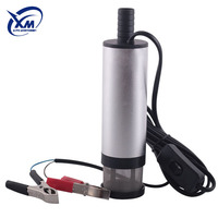 China Wholesale Supply New Portable Fuel Water Oil Car Camping Electric Mini Fuel Pump 24VDC