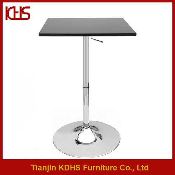 Hot Sale Cheap Square Bar Table Glass Top Colorful Buy