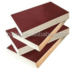 China construction Marine Plywood 5mm pine faced plywood