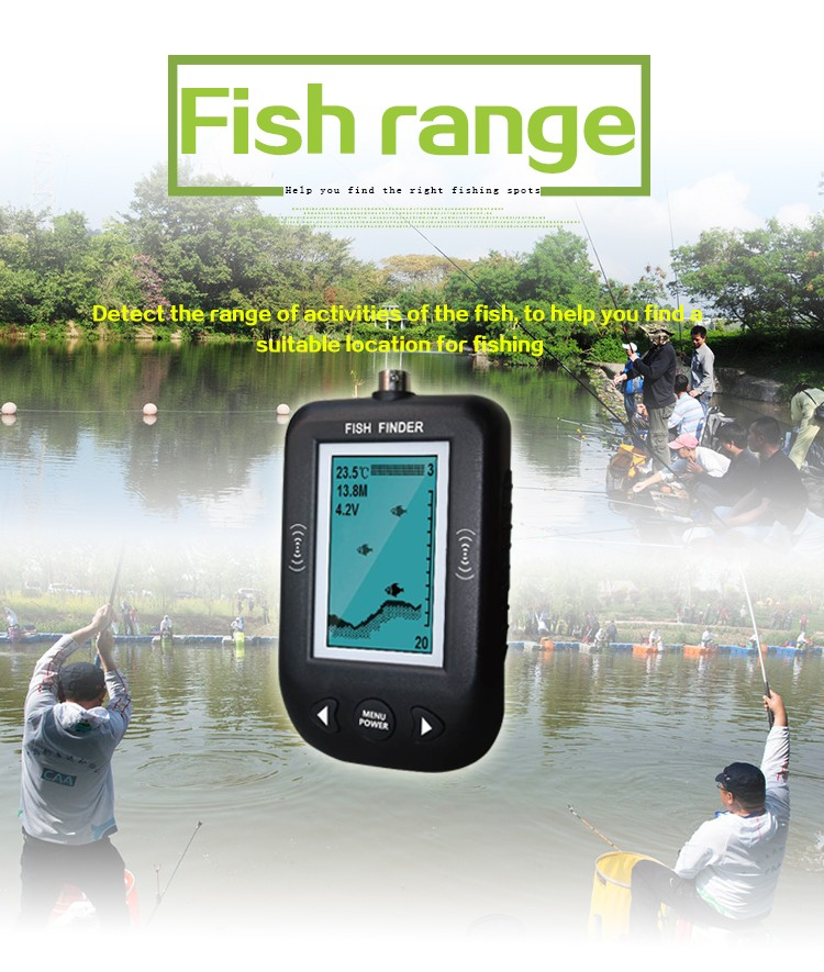 sonar fish finder smart sonar fish finder water temperature, Fish Finder