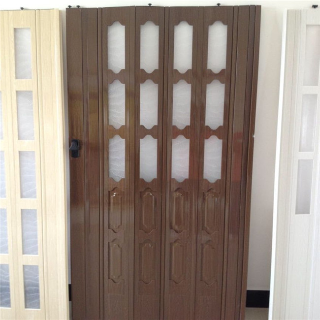 Accordion Bathroom Doors made in china pvc sliding door/folding door/accordion door for