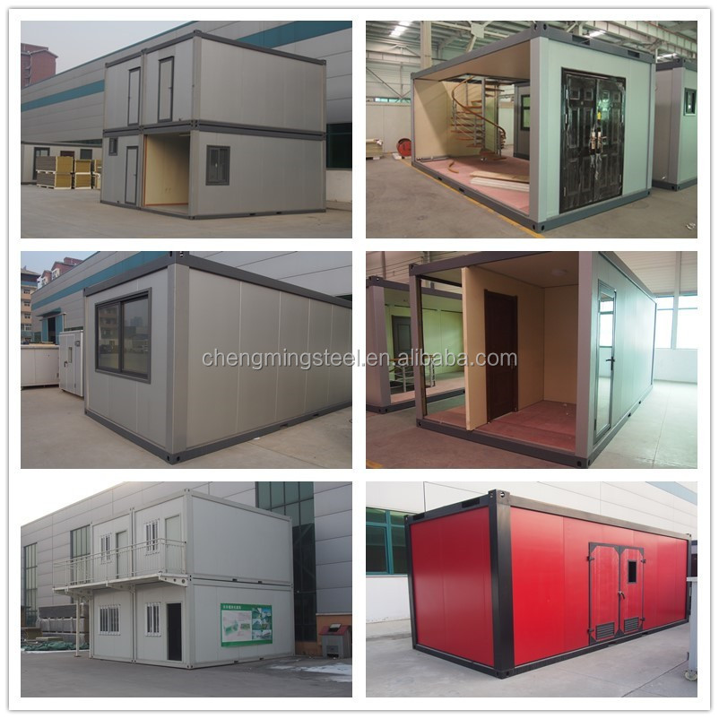 20ft 40ft luxury prefabricated modular steel villa prefab houses cape town buy prefab houses - Container homes cape town ...