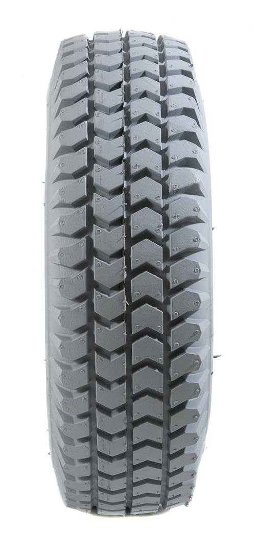 2 Grey Air Filled Pneumatic Innova Tread Mobility Scooter Tyres 260x85 (3.00-4)