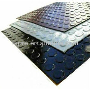 Anti-slip Waterproof Antistatic Coin Pattern Rubber Flooring Mats