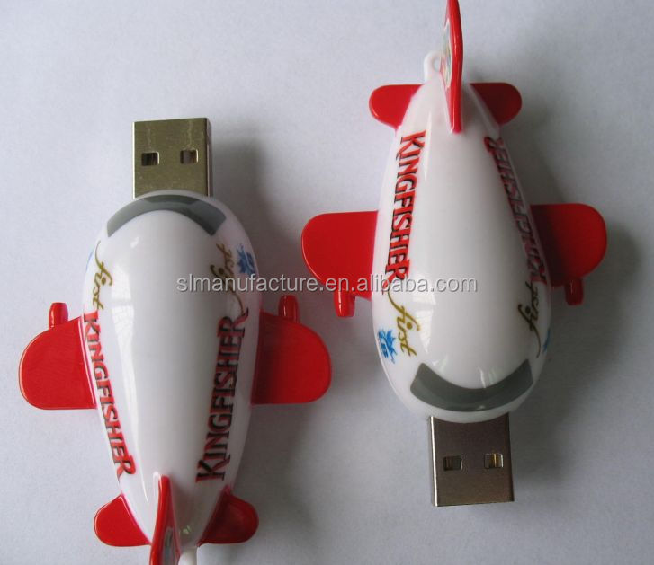 passenger-jet SHAPED usb flash drive