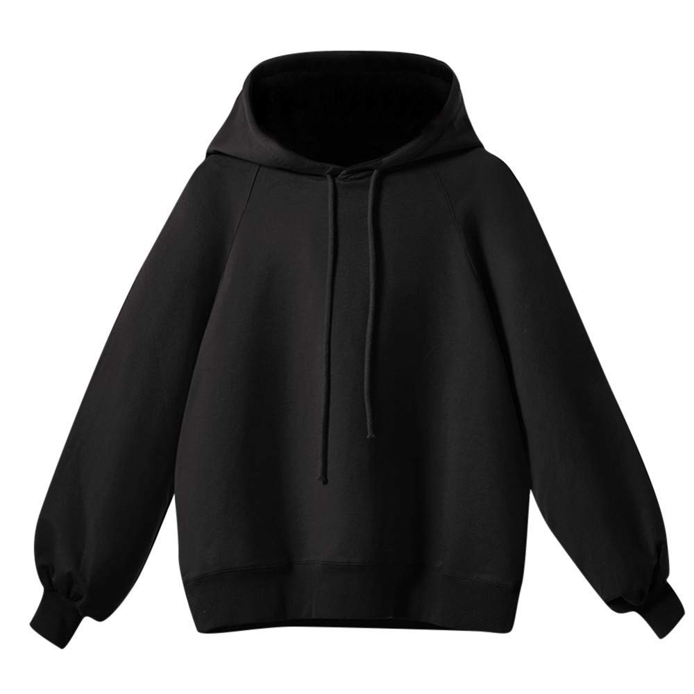b6f75fdc299 Get Quotations · Womens Hoodies Sweatshirts Long Sleeve Oversized Batwing Casual  Hooded Pullover Jumpers Blouse Tops Shirts Clearance