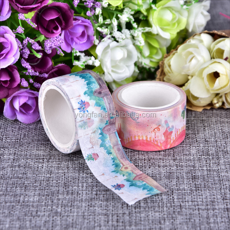 DIY Washi Sticky Paper Tape Masking Tape Self Adhesive Tape