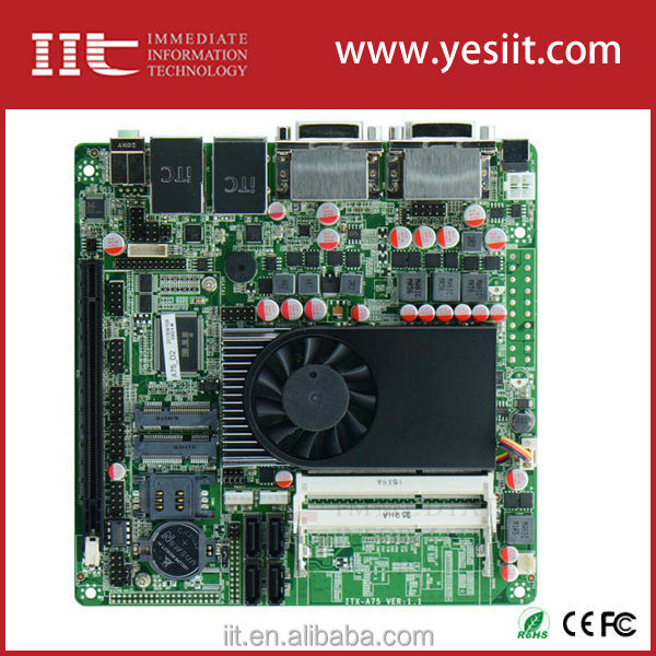 Quad Core Embedded Mini Itx Motherboard With Pcie X16,Mini Pcie ...