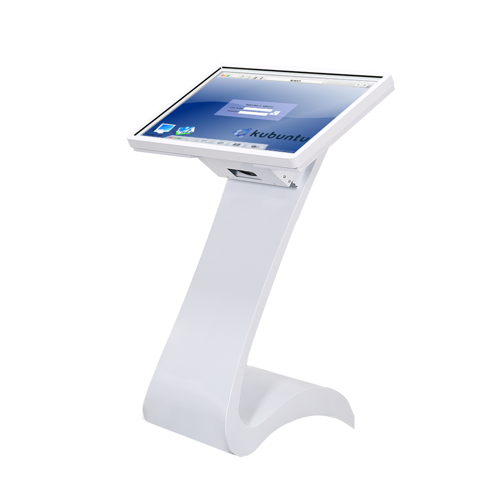 32 zoll touch screen floor stand selbstbedienungsterminal informationen anfrage digital signage kiosk