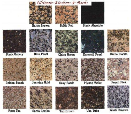 Prefabricados de granito granito identificaci n del for Colores de granito importado