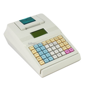 Supermarket Electronic keyboard portable mini cash register machine for sale