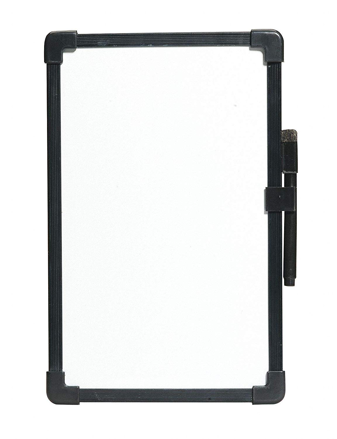 """CAI Approved Gloss-Finish Melamine Dry Erase Board, Wall Mounted, 7-1/2""""H x 11""""W, White"""