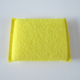 New Design Soft Yellow Plastic Wire Kitchen Scourer Scouring Pad