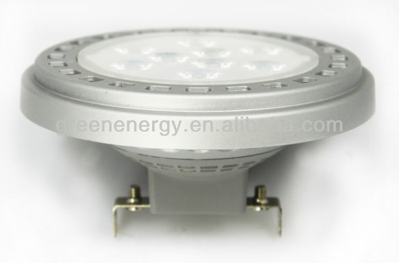 LED Lamp AR111 11W G53 base TUV GS CE ROHS certification 3 years warranty