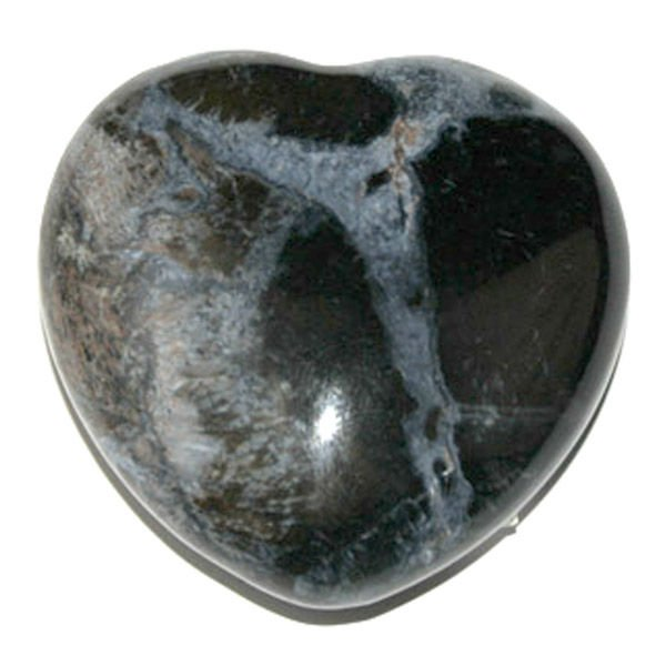 Natural Gemstone Pietersite Heart Carving No Hole Valentine's Gift